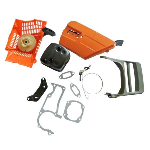 Pull Starter Sprocket Cover w/ Adjuster & Crankcase Gasket Kit Fits: 362 365 371 372 372XP Chainsaws mr gasket 6324 valve cover stud kit