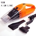 New 2014 100W 4.5m Cable strong car vacuum cleaner mini vacuum cleaner for car aspirator aspirateur car cleaner Free Shipping