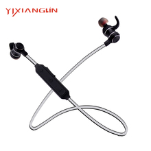 YIXIANGLIN ESP19-05 Top Quality Best Headphone bluetooths neckband earphones stereo BT4.2 sport wireless Headset with  for sale
