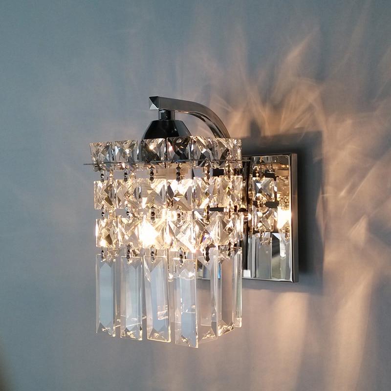 Led Mirror Lamp Europe Simplicity Modern Bedside Wall Bathroom
