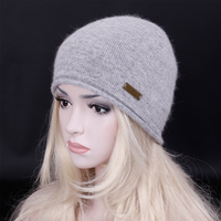 2016 Winter New Arrival Brand Wool Knitting Hat Pure Color Contracted Skullies Beanies Fashion Women Men