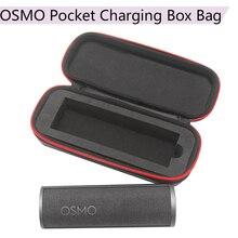 Sert kabuk saklama çantası tek çanta Osmo cep DJI Osmo cep şarj kutusu kasa şarj güç kaynağı kamera aksesuarları