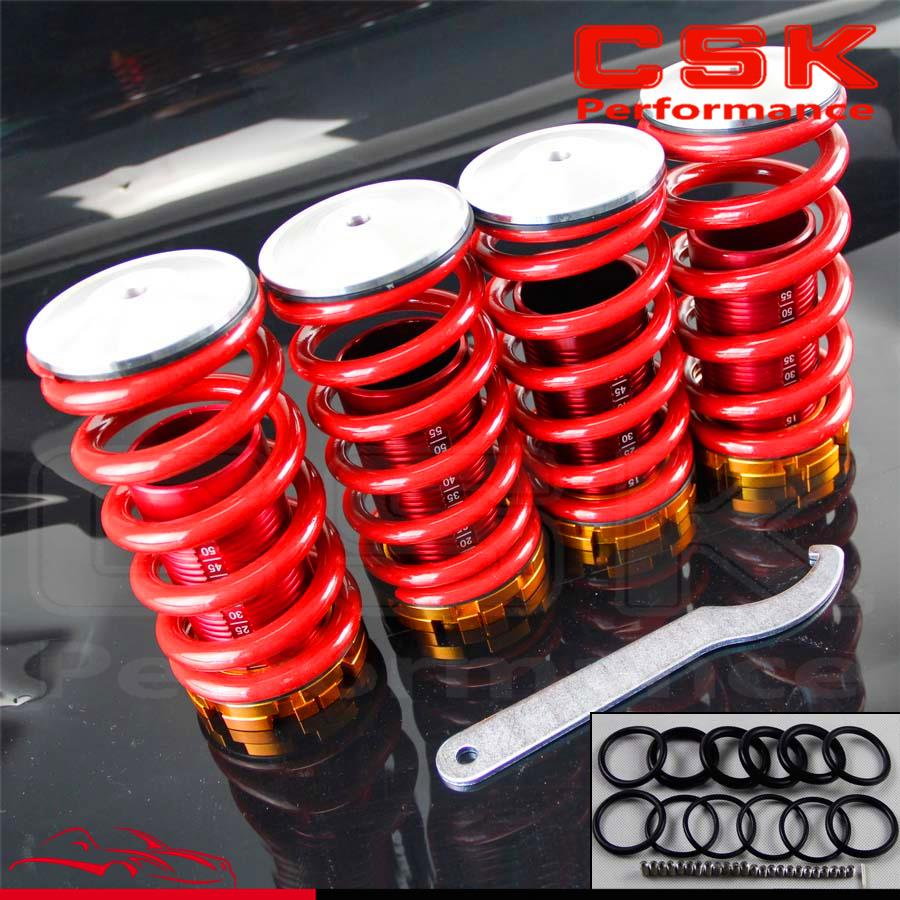 Aluminum Scaled Lowering Suspension Coilover Coil Springs For Honda Civic 88 00-in Fuel Supply & Treatment from Automobiles & Motorcycles    3