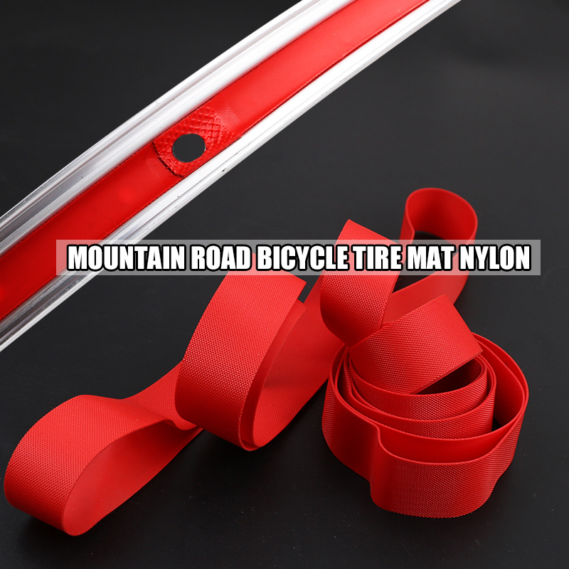 2 pieces MTB Road Bicycle Tire Mat Nylon 700Cx18mm 20/22/24/26/27.5/<font><b>29</b></font> inch x20mm 451 Inner <font><b>Tube</b></font> Puncture Splint Tire protect image