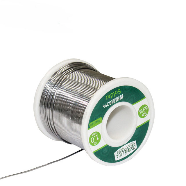 LAOA  63% Soldering Tin Wire High Purity Tin Wire Low Melting Point Solder Wire Solder Stick 1
