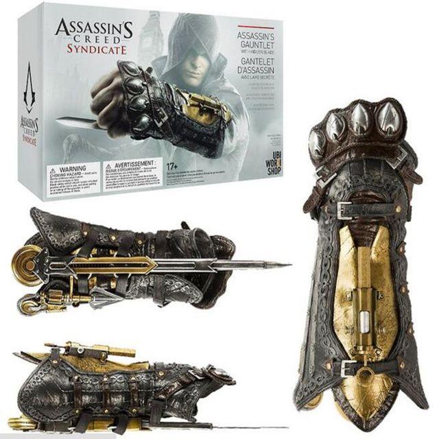 Assassins Creed 6 hoja oculta 40 CM figura de acción pirata hoja oculta Edward COSPLAY armas modelo juguetes para niños caja de regalo Original
