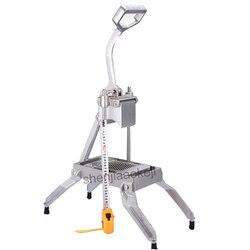Do krojenia do cięcia maszyna do cięcia krajalnica do cięcia ziemniaków rzodkiewka ogórek cebuli maszyna do ze stopu aluminium instrukcja maszyna do krojenia 1 pc|Roboty kuchenne|   -