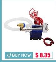 3D головка принтера mk8 экструдер j-главаend насадка 0,4 мм корма входе диаметр 1,75 нити дополнительные сопла + 1 м кабеля двигателя