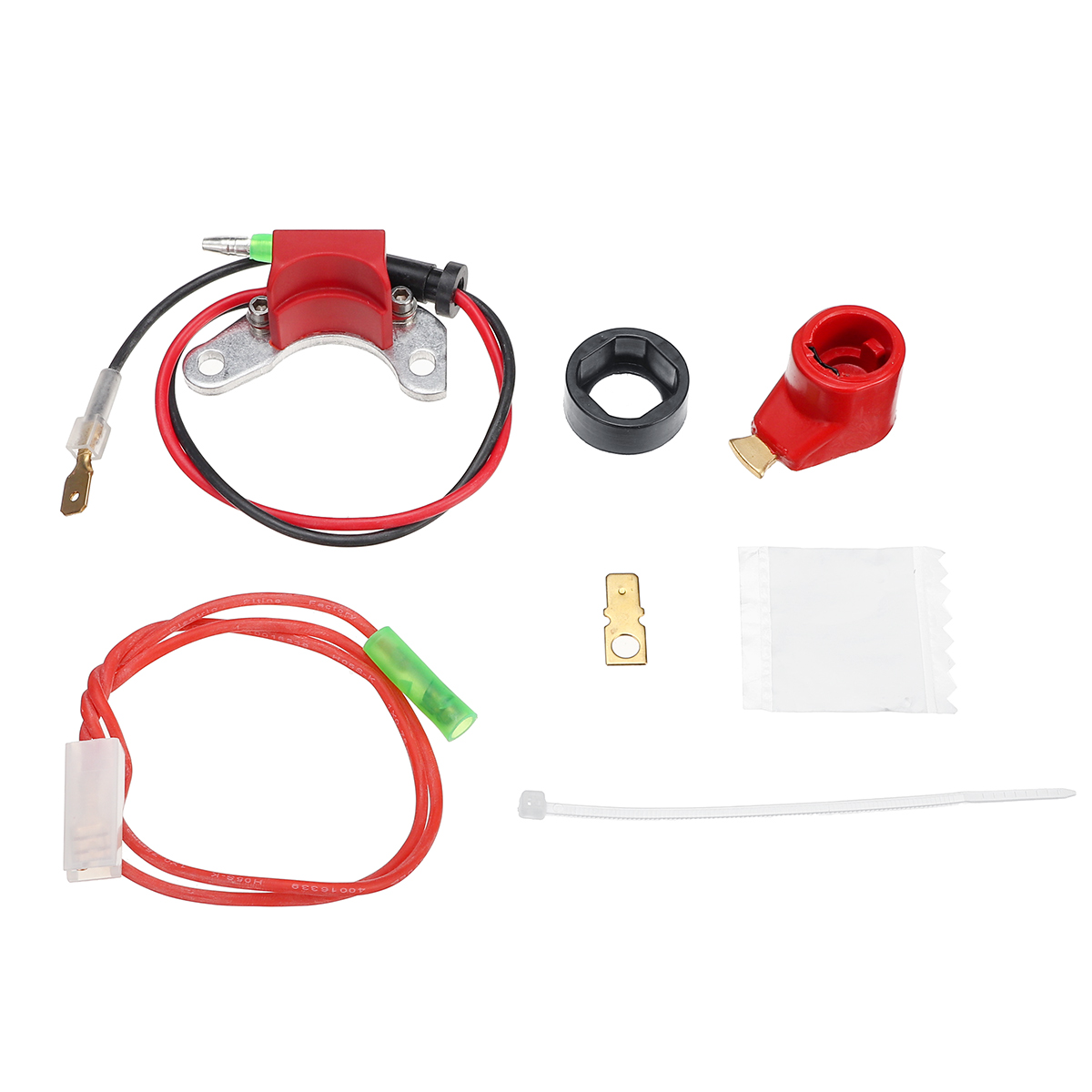 1x электронные точки зажигания конверсионный распределитель катушки комплект подходит для всех автомобилей для LUCAS 25D + DM2 дистрибьютор