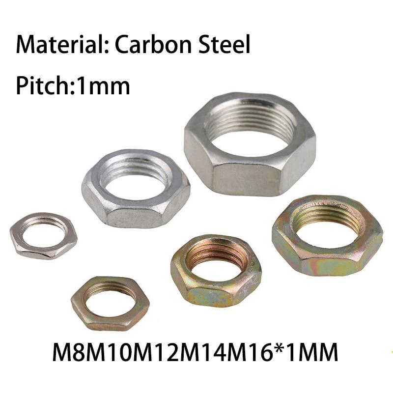 Metric M3 Body Platin NUT FULL M3 Fastener Material Steel Fastener Plating Bright Zinc Thread Size
