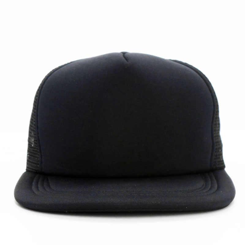 fb723d8e5ca ... Snapback Mesh Baseball Cap Summer Hats For Men Women Hip Hop Skateboard  Trucker Caps Boys Girls