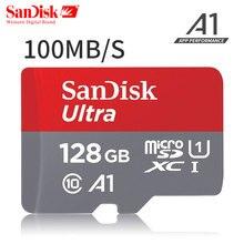 Original SanDisk Ultra Memory Card micro SDXC UHS-I microsd Class10 100M/s micro SD Card 128GB TF Card carto de memoria
