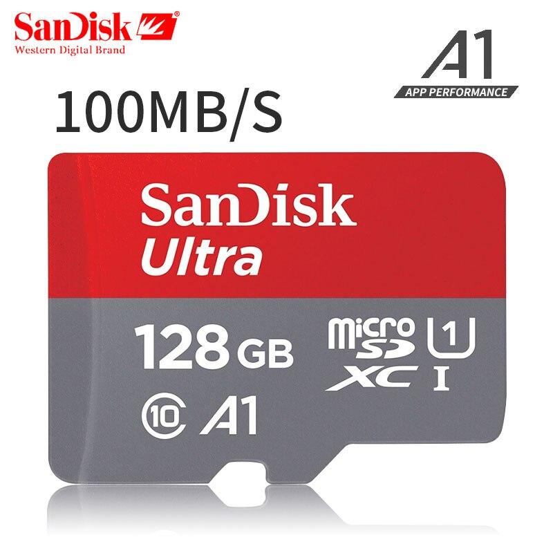 Originale SanDisk Ultra Scheda di Memoria micro SDXC UHS-I microsd Class10 100 m/s micro SD Card 128 gb Carta di TF carto de memoria