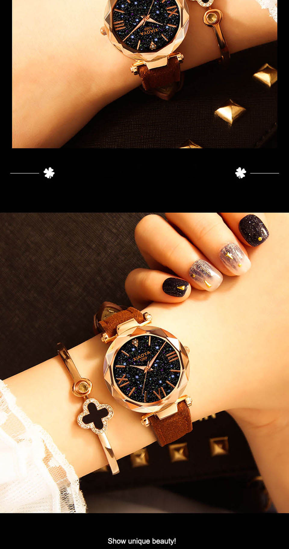 2018 Starry Sky Watch Women Minimalist Top Brand Luxury Wrist Watch For Ladies Female Clock Damski Montre Femme (6)