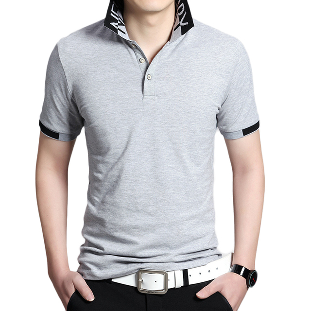 Polo Shirt Men Turn Down Collar Summer Casual Short Sleeve Mens Polo Shirt Brands Slim Fit Breathable Cotton Polo Homme Plus 5XL