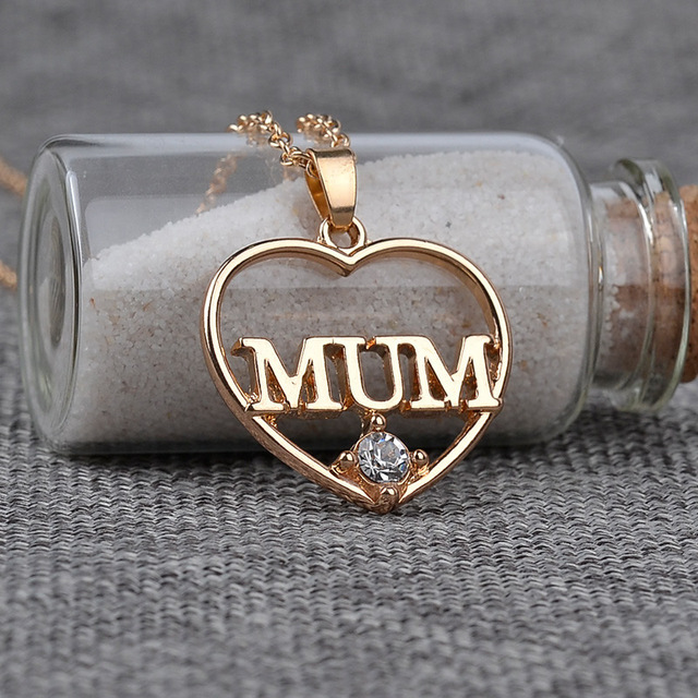 Yyw mothers day mum letter word charm necklace wholesale jewelry yyw mothers day mum letter word charm necklace wholesale jewelry gifts antique gold color rhinestone mozeypictures Image collections
