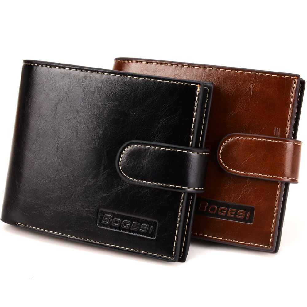 Begesi New Mens Wallets Carteira Masculina Black Coffee Color Quality Hasp 3 Folds Card Holder Zipper Coins Change Pocket Purse