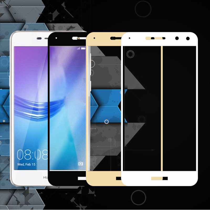 For Huawei Y5 2017 Screen Protector Full Cover Anti-Explosion Tempered Glass For Huawei Y5 2017 MYA-L22 Protective Film 5.2