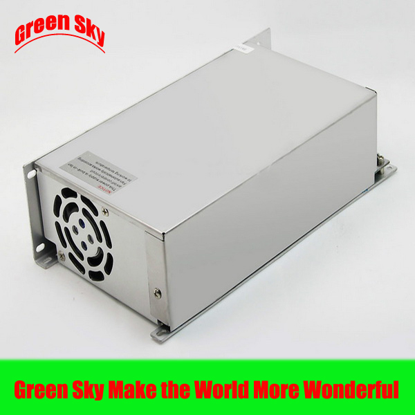цена на New Arrival Cooling fan Voltage Transformer LED Display DC single output 48v 500w power supply