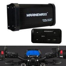 Marine Waterproof Bluetooth Black Audio Player