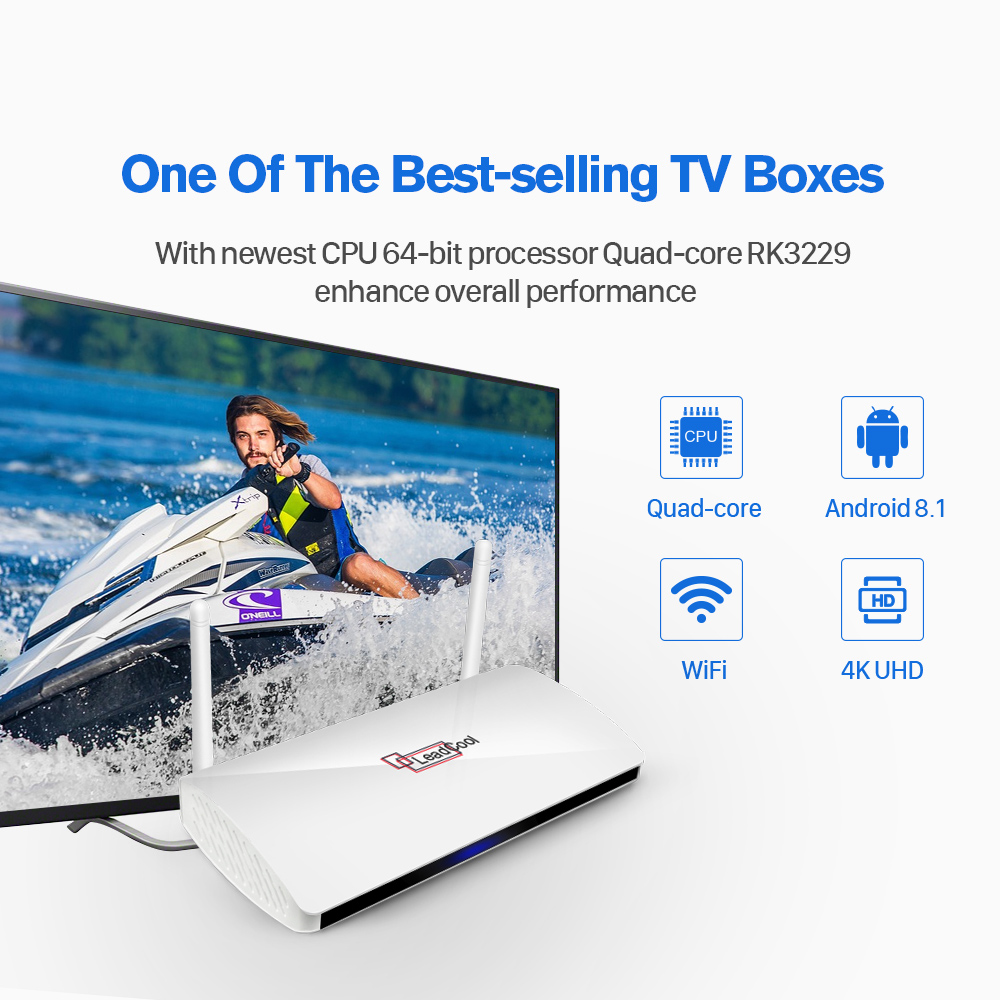 Image 3 - IPTV France Arabic Italy IP TV Leadcool Android 8.1 Tv Box IPTV French Subscription Italia Spain Portugal Qatar Belgium IP TV-in Set-top Boxes from Consumer Electronics