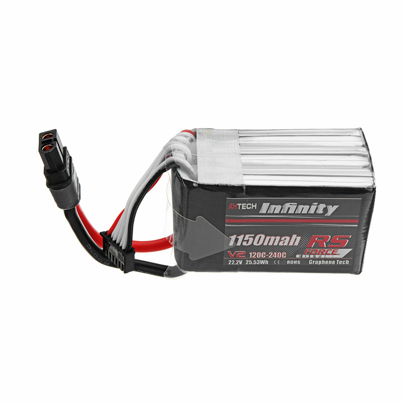 AHTECH For Infinity 22.2V 1150mAh 120C-240C 6S Lipo Battery Rechargeabel W/ XT60H-F for RC Models Multicopter Spare Part Accs цена 2017