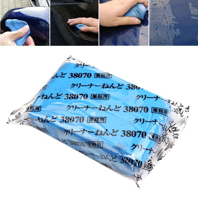 Automobiles & Motorcycles Auto Car Detailing Clay Cleaning Bar 180g Blue Practical Magic Car Surface Clean Clay Mini Handheld Car Washer Car-styling Sponges, Cloths & Brushes