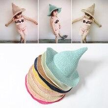 Nuevo verano lindo muts bebé Niñas playa sombrero de ala grande Sol sombrero  de los niños sombreros niños Cap touca infantil t 0399271d035