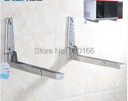 Microwave Oven Mount Bracket 304 Stainless Steel Shelf Rack One Piece