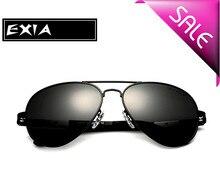 Sunglasses Men Polarized Grey TAC Lenses Anti-Ultra Violet EXIA OPTICAL KD-505 Series