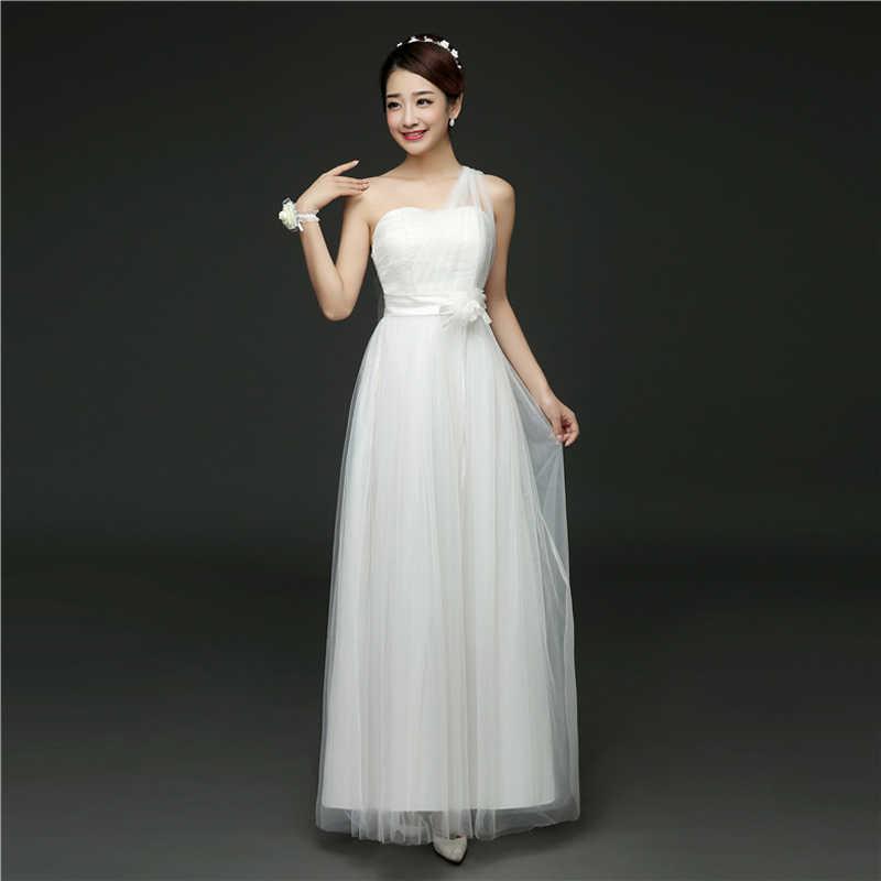 Musim Panas Gaun Pengiring Pengantin Gaya Panjang Gaun Bridesmaid Cocok Prom Gaun Pengiring Pengantin ROM80018