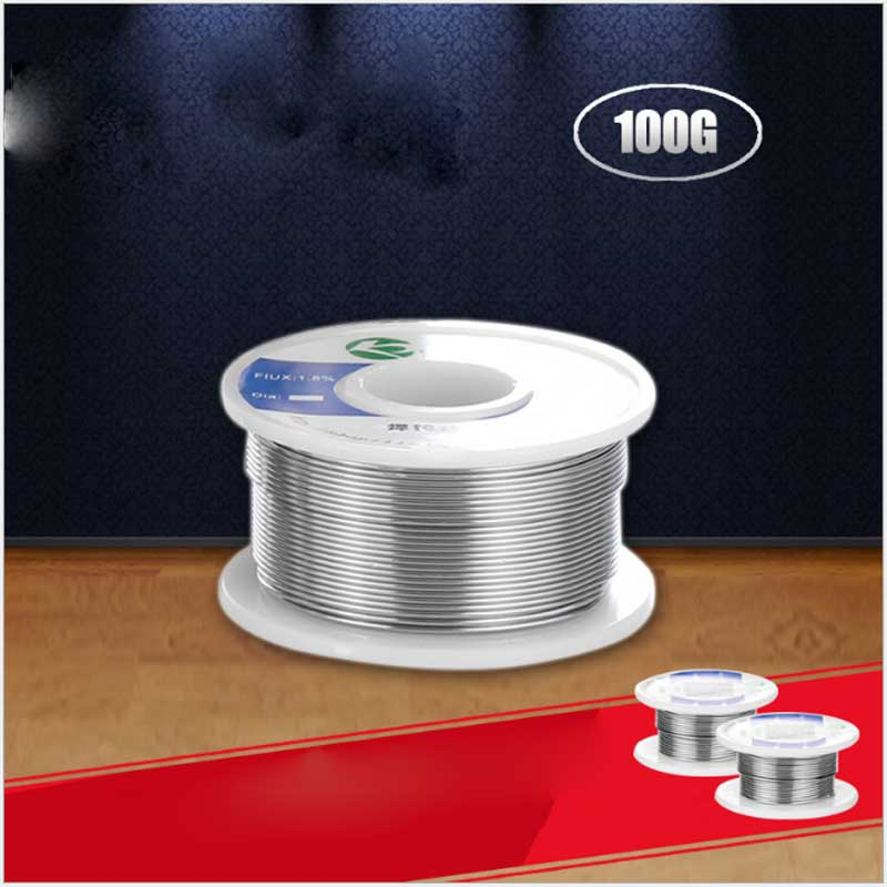 100g Solder Wire Solder Wire 1.0MM ~ 2.0MM Tin Wire Solder The Original Electronic Components