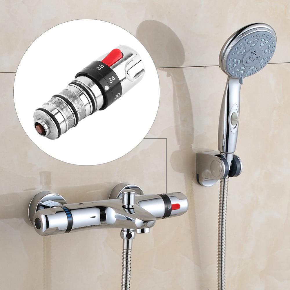 Banyo termostatik musluk bataryası makara yedek karıştırma banyo duş SU ISITICI vana
