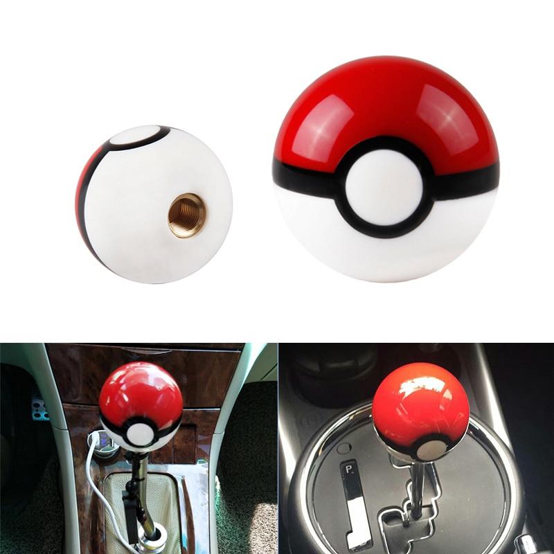 Diameter 54mm Pokemon PokeBall Racing Gear Shift Knob M10X1.5 For Honda Acura