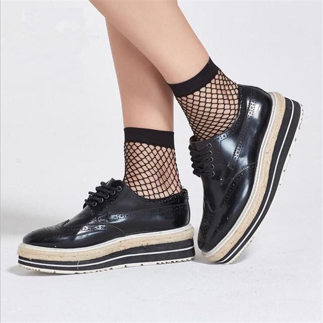 Sexy Women's Breathable Fishnet Socks