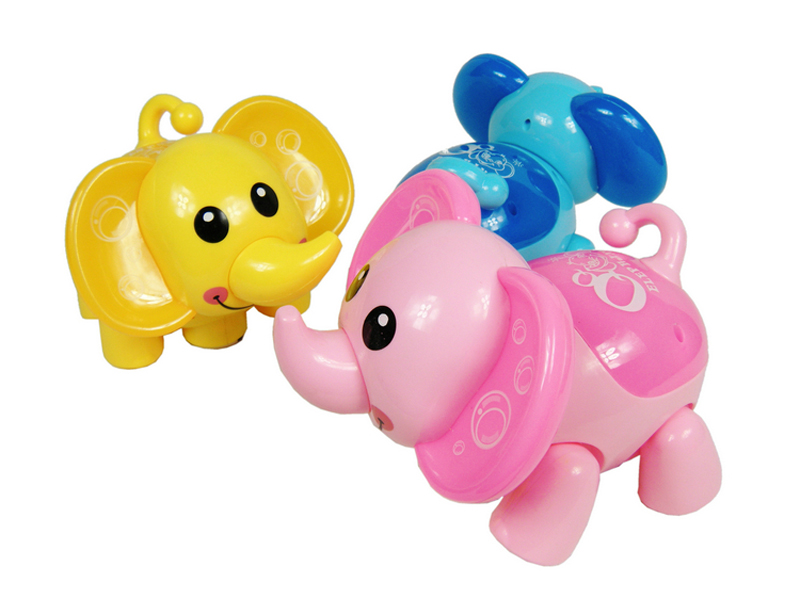 Electronic Elephant Toys Flashing Music Cute Elephant Interactive Toys Gift for Kids Children