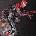 Spiderman 1pcs 50cm 2 Color The Amazing Spiderman Action Figure Decoration Marvel Collection Model Dolls Kids Toys 1211