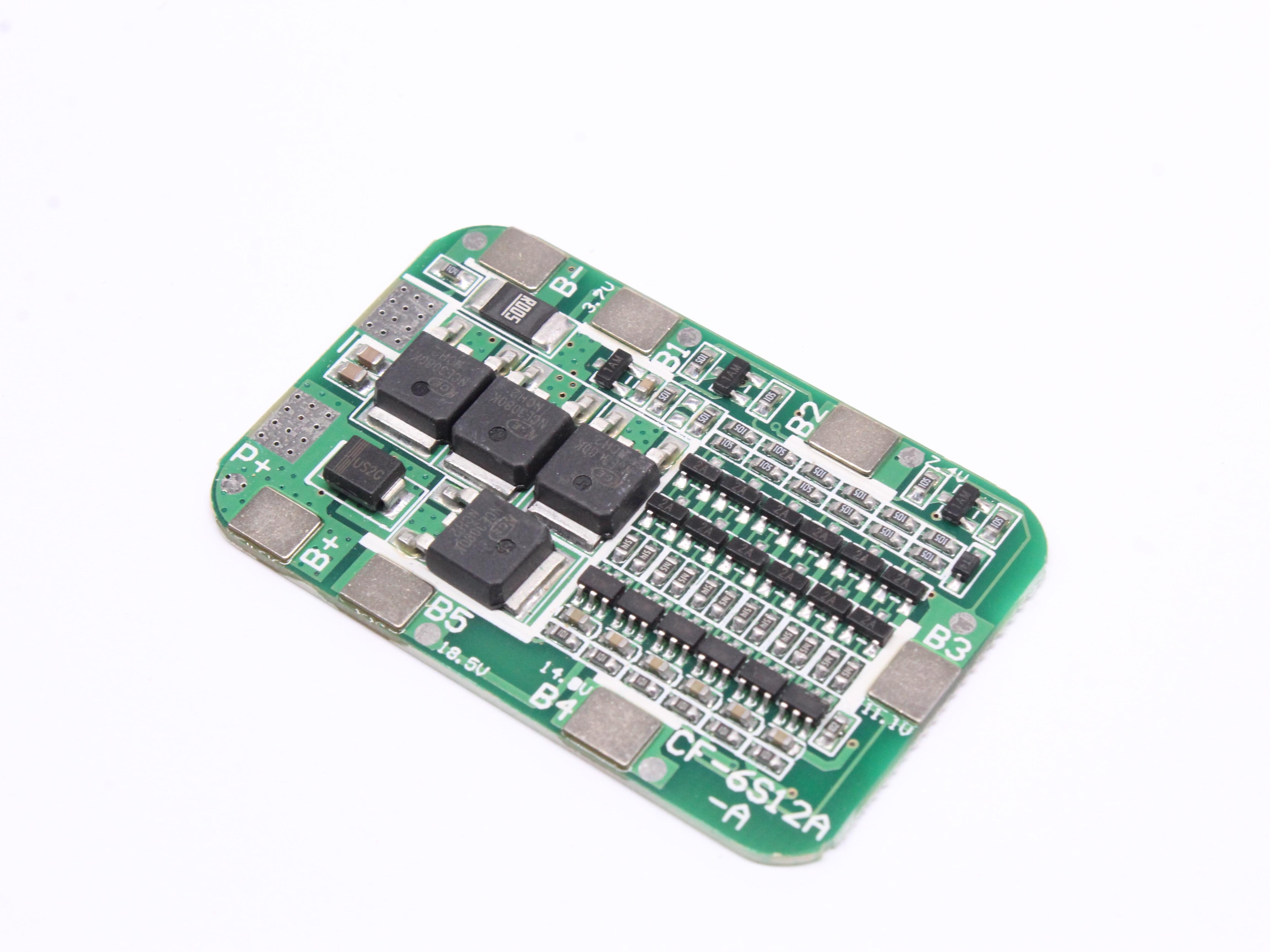 6S 15A 24V PCB BMS Защитная плата для 6 упаковок 18650 литий-ионная литиевая батарея сотового модуля новое поступление