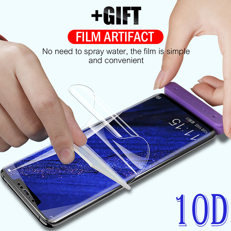 10D Curved Hydrogel Screen Film Glass For Huawei Mate 20 Lite P20 Pro Mate9