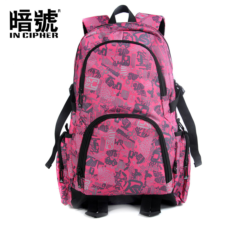 все цены на [In Cipher] Men Backpack Anti Theft Multifunctional Oxford Casual Laptop Backpack With Waterproof Travel Bag Bagpack 5207