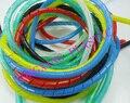 5 метров/сумка 10 мм sprial оберточная лента красивый провод кабель PE материал красный желтый синий зеленый черный белый цвет