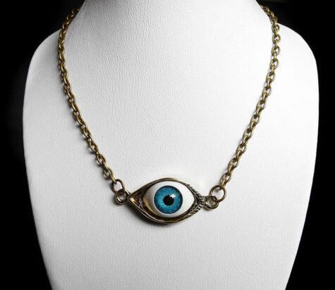 Beufun Zinc Alloy Chain Cross Pendant Necklace Galaxy Wolf 3D Printed Jewelry for Men Women