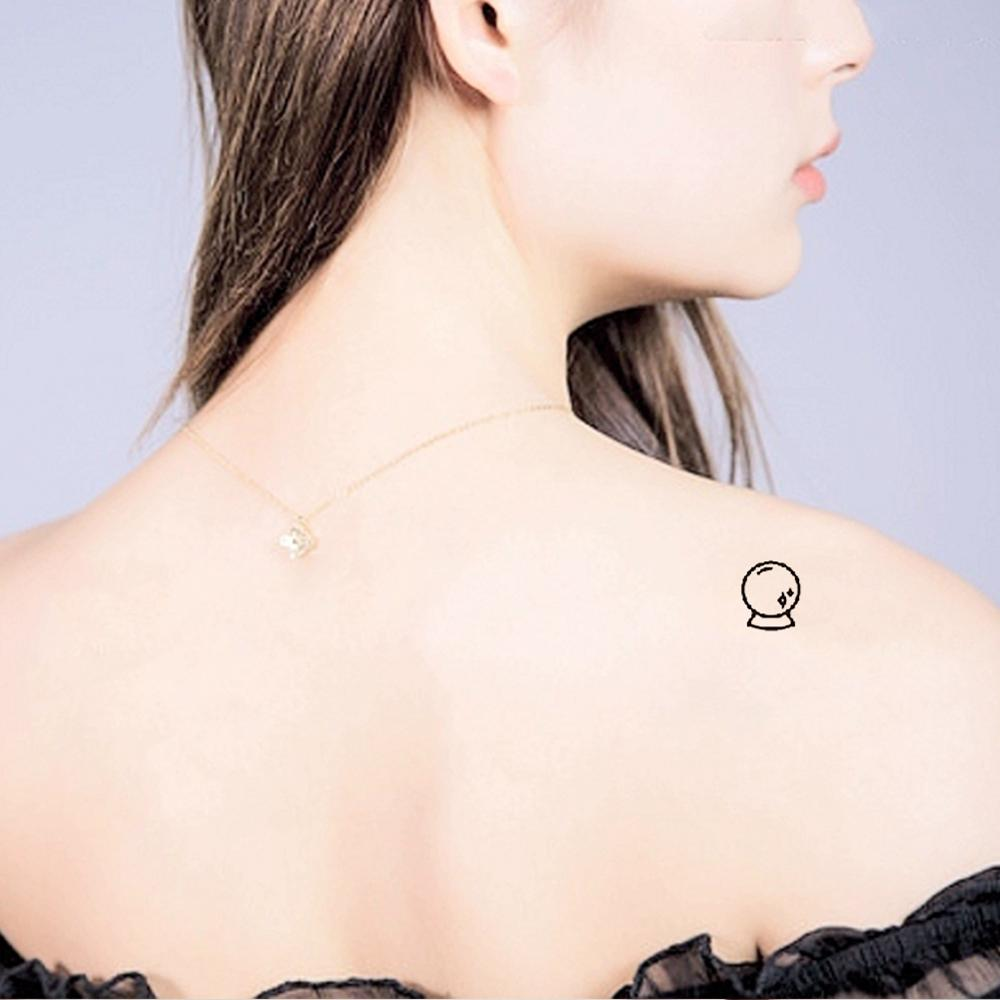T 049 Multiple patte small pattern cool temporary tattoo sticker female simple line pattern body art new design fake male tattoo in Temporary Tattoos from Beauty Health