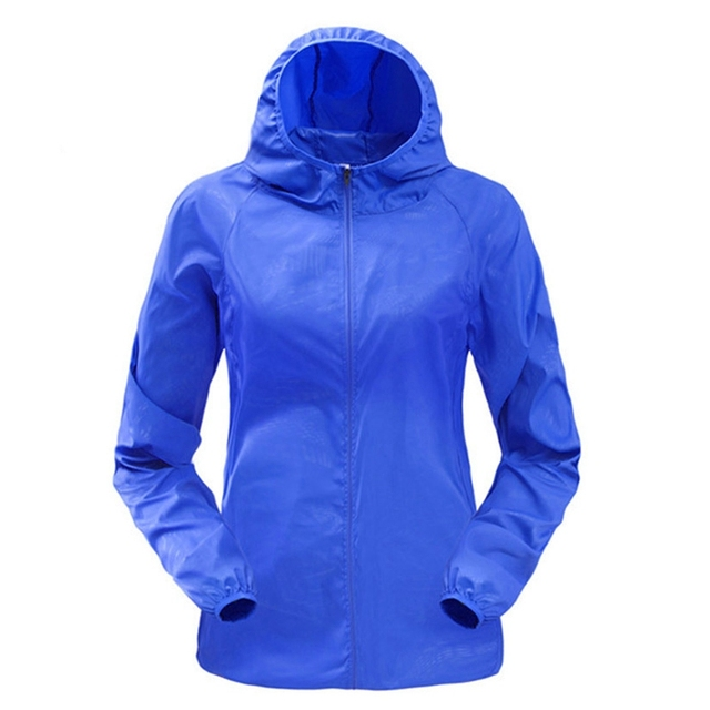 b0e20d1d578 LASPERAL Couple Sport Jackets With Hoodie Men Women Waterproof Outdoor  Sportswear Coat Quick Dry Plus Size -in Running Jackets from Sports    Entertainment ...