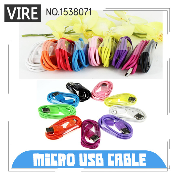 Micro USB Cable 2.0 Data Sync Charger Nokia HTC Samsung Motorola Blackberry Galaxy Andriod Phone - U-Like Electronics store