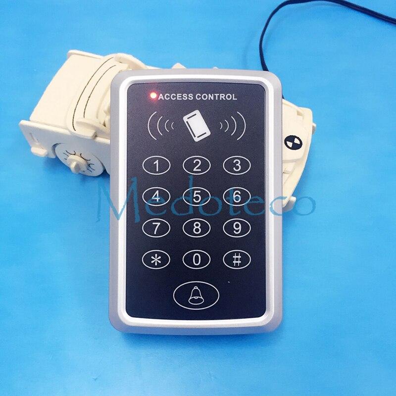 125 khz ou 13.56 mhz Carte De Proximité Rfid Système de Contrôle D'accès RFID/EM Clavier Carte de Contrôle D'accès RFID Porte ouvre