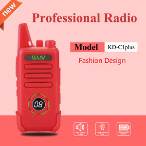 Image 3 - New WLN KD C1plus mini Walkie Upgraded Radio KDC1plus UHF 400 470MHz slim transceiver better than KD C1 two way radios