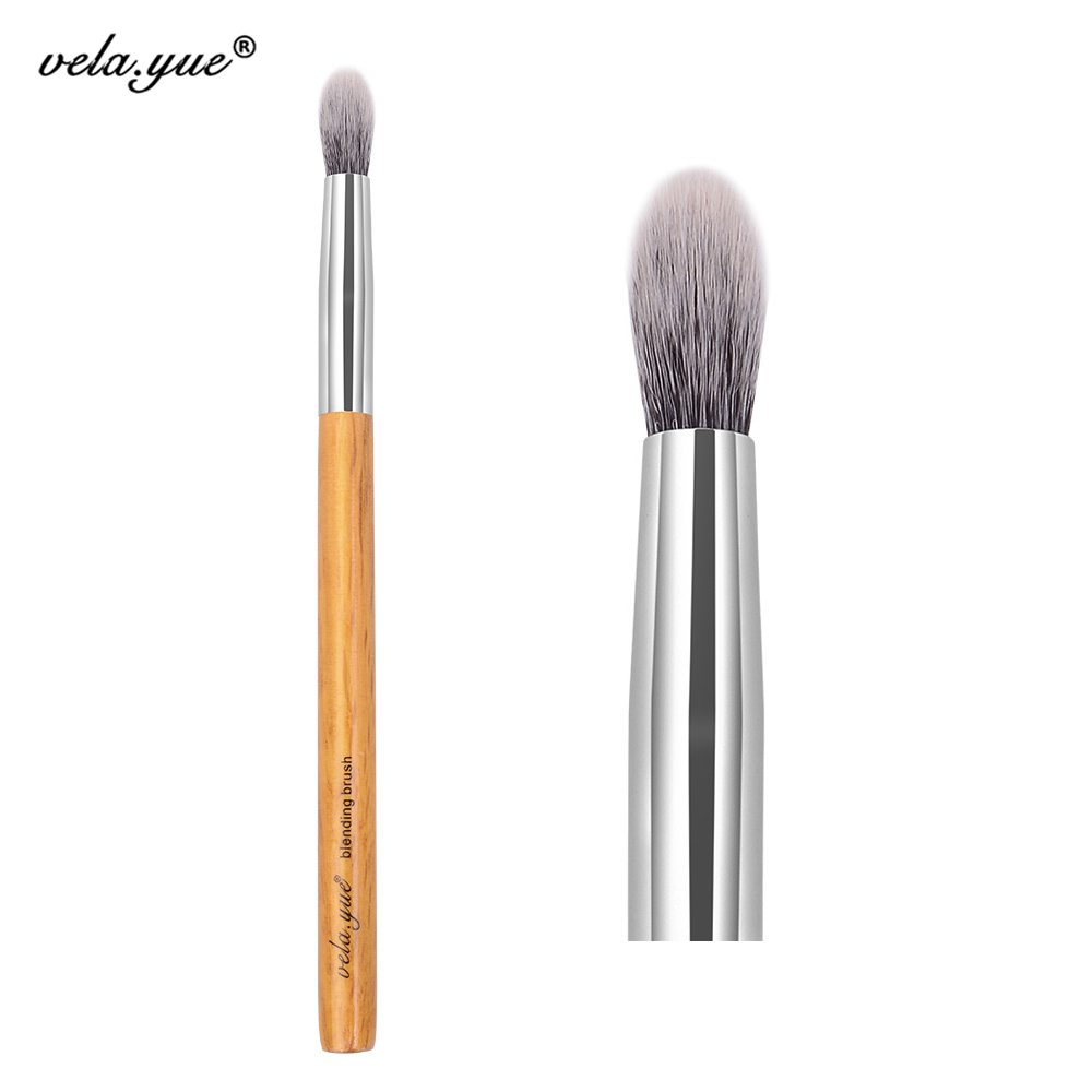 vela.Yue Precise Tapered Blending Brush Mata Lipatan Alat Makeup Kontur