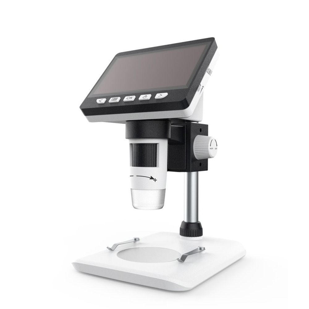 1080P-1000X Prático Portátil Microscópio Digital LCD Eletrônico Microscópios de Vídeo HD USB Endoscópio Magnifier Camera