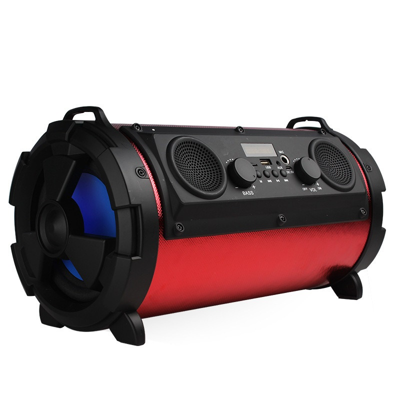 Cosonic 15W 2000mAh Bluetooth Wireless Speaker Outdoor Portable Luminous Subwoofer With Mic Multifunctional For TV Smartphones letv bluetooth wireless speaker outdoor portable mini music player subwoofer